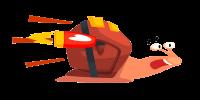 Rocket Powered Snail