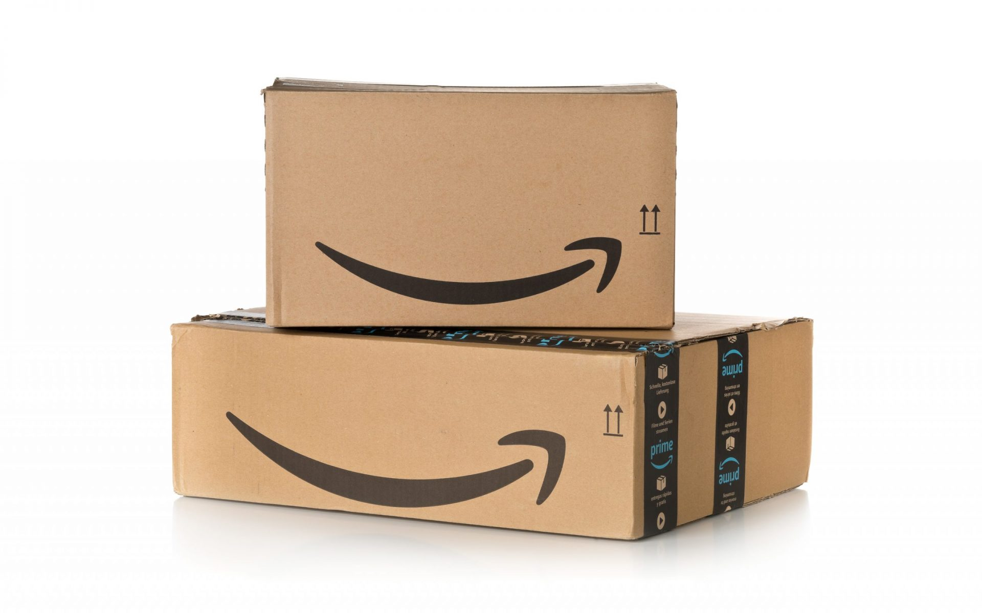 Amazon Boxes with a Smile